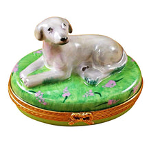 Load image into Gallery viewer, Weimaraner Limoges Box