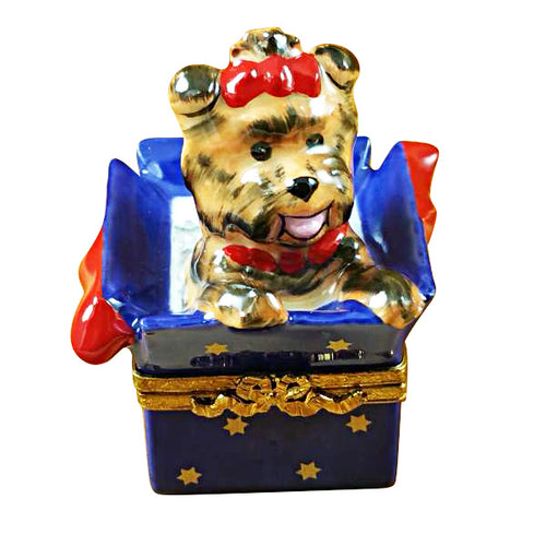 Terrier in Present Limoges Box
