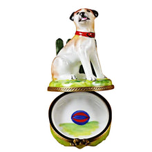 Load image into Gallery viewer, Jack Russell Limoges Box