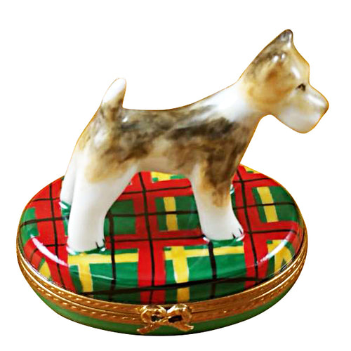 Fox Terrier Limoges Box