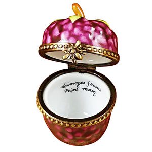 Raspberry Limoges Box