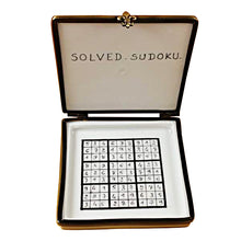 Load image into Gallery viewer, Sudoku Limoges Box