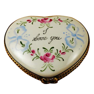 I Love You Heart Limoges Box