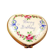 Load image into Gallery viewer, Happy Birthday Heart - 50th Limoges Box