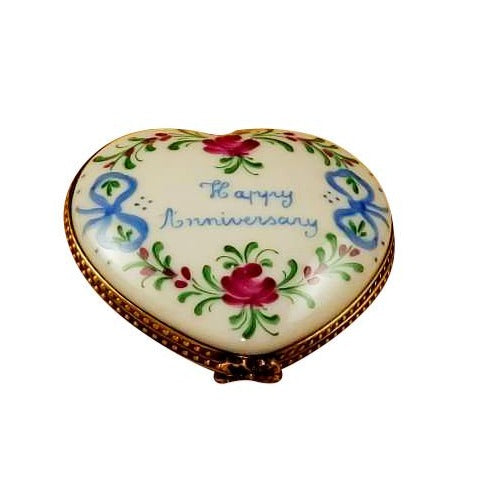 Happy Anniversary Heart - 50th Limoges Box