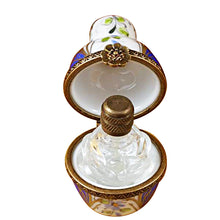 Load image into Gallery viewer, Blue Urn with One Bottle Limoges Box
