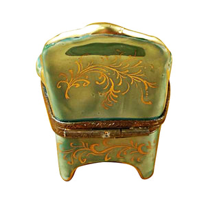Green Armchair Limoges Box