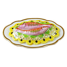 Load image into Gallery viewer, Two Fish on a Platter Limoges Box