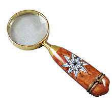 Load image into Gallery viewer, Magnifying Glass Limoges Box