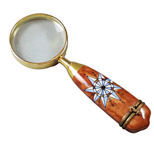 Magnifying Glass Limoges Box
