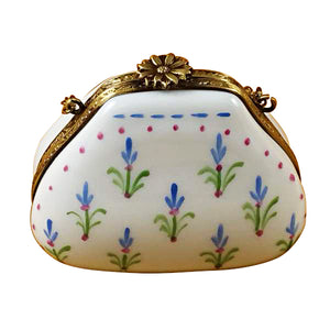 Bluebonnet Purse Limoges Box