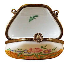 Load image into Gallery viewer, Yellow Purse Limoges Box