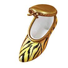 Load image into Gallery viewer, Tiger Shoe Limoges Box