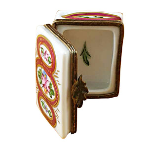 Decorated Book Limoges Box