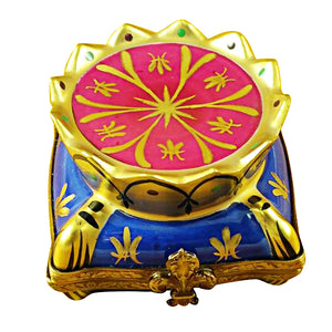 Crown on Pillow Limoges Box