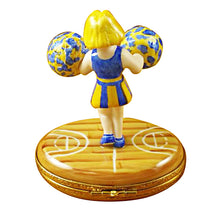 Load image into Gallery viewer, Pom-Pom Girl (Cheerleader) Limoges Box