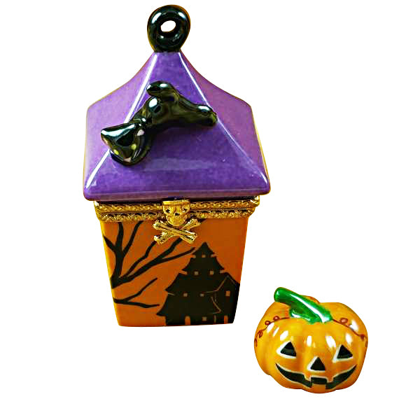 Halloween Lantern Limoges Box