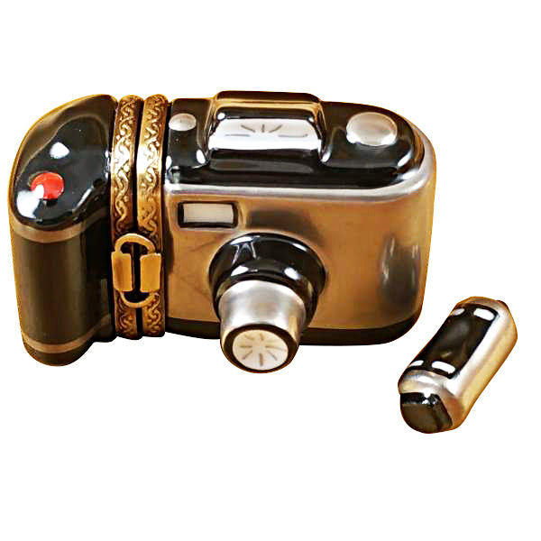 Camera with Removable Film Limoges Box