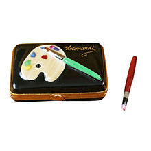 Load image into Gallery viewer, Artist Paint Box Limoges Box