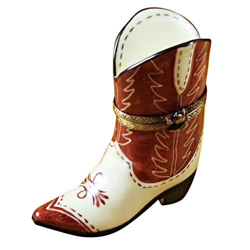 Cowboy Boot Limoges Box