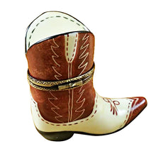 Load image into Gallery viewer, Cowboy Boot Limoges Box