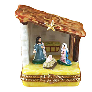 Small Nativity Limoges Box