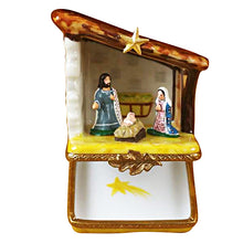 Load image into Gallery viewer, Small Nativity Limoges Box