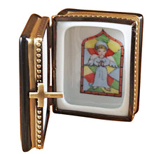Load image into Gallery viewer, Black Bible Limoges Box