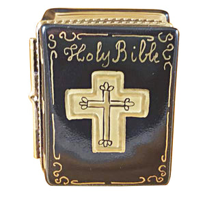 Black Bible Limoges Box