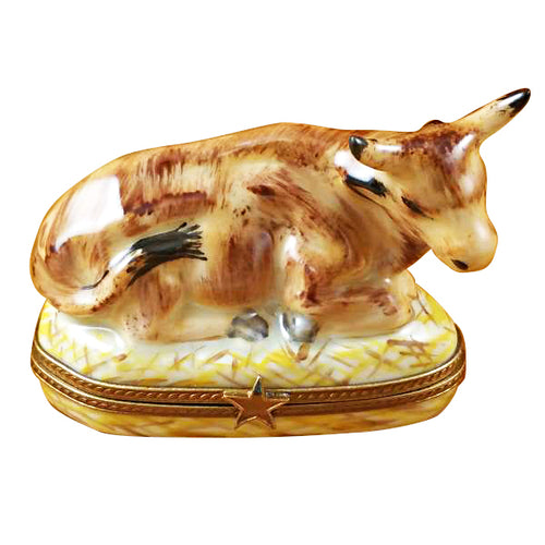 Cow Limoges Box