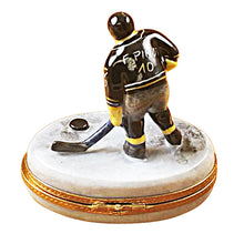 Load image into Gallery viewer, Hockey Player Limoges Box