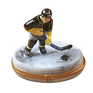 Hockey Player Limoges Box