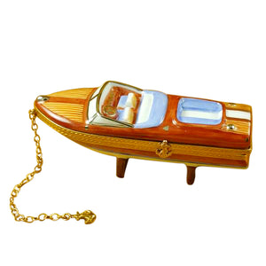 Speed Boat Limoges Box
