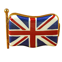 Load image into Gallery viewer, British Flag Limoges Box
