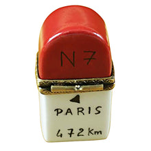 Load image into Gallery viewer, Nice, France Milemarker Limoges Box