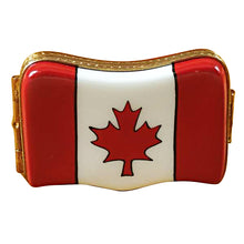 Load image into Gallery viewer, Canadian Flag Limoges Box