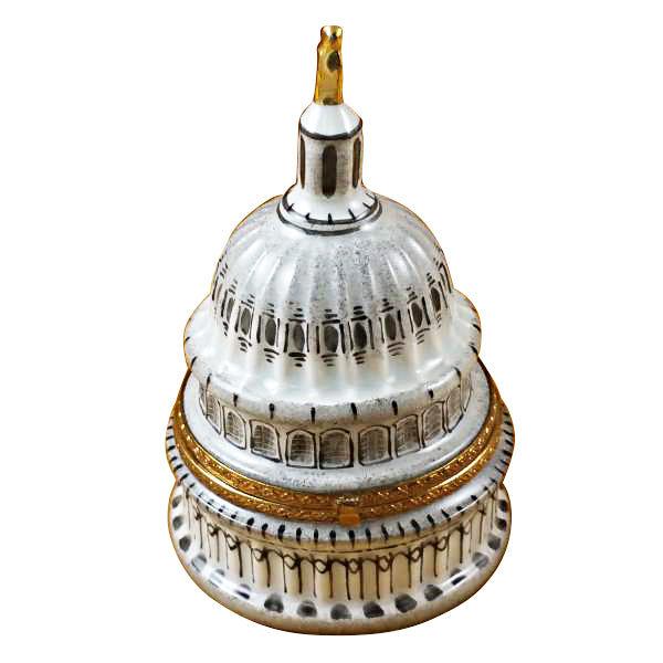United States Capital Dome Limoges Box