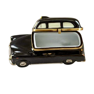 London Black Taxi Limoges Box