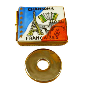 Paris CD Limoges Box