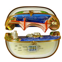 Load image into Gallery viewer, San Francisco Bay - Two Parts Limoges Box