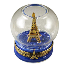 Load image into Gallery viewer, Eiffel Tower in Globe Limoges Box