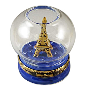 Eiffel Tower in Globe Limoges Box