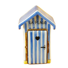Load image into Gallery viewer, Beach Changing Hut - French Limoges Box