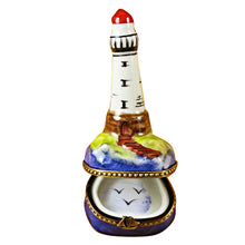 Load image into Gallery viewer, Small Lighthouse Limoges Box