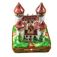 Load image into Gallery viewer, Four Turret Castle Limoges Box