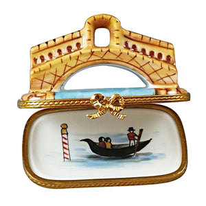 Rialto Bridge in Venice Limoges Box