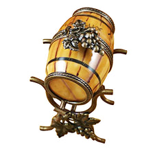Load image into Gallery viewer, Wine Barrel on Stand Limoges Box