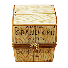 Load image into Gallery viewer, Crate with 6 Bottles Limoges Box