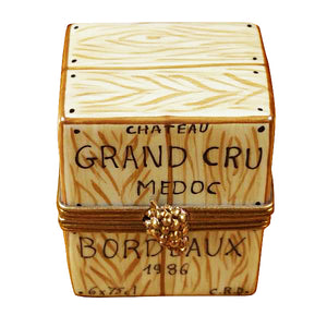 Crate with 6 Bottles Limoges Box