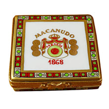 Load image into Gallery viewer, Cigar Box Limoges Box